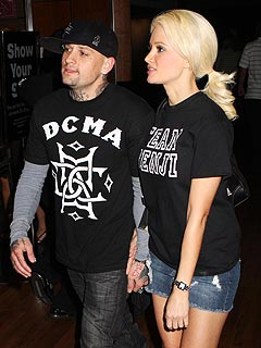 Source: Benji Madden & Holly Madison's Relationship 'Heating Up'