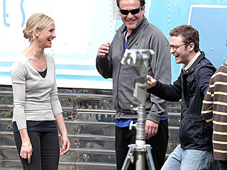 Cameron Diaz and Justin Timberlake's On-Set Giggles