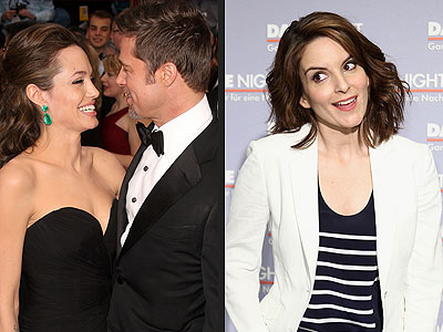 Tina Fey Would Double Date with Brad and Angelina