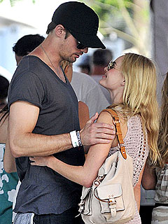 Kate Bosworth and Alexander Skarsgard Cozy Up at Coachella