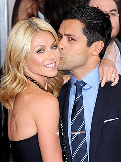 Kelly Ripa Tries to Tell Her Teenage Son That She's Cool