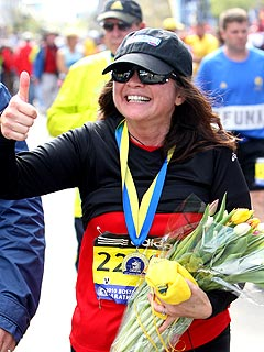 Valerie Bertinelli 'Euphoric' After Finishing Boston Marathon