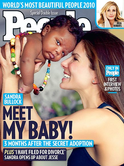 World Exclusive: Meet Sandra Bullock&#39;s Baby Boy!