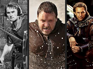 Russell Crowe Picks on Robin Hoods of the Past