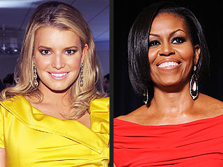 Jessica Simpson: I Want to Be Michelle Obama