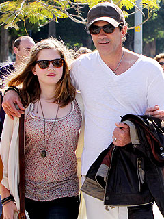 Antonio Banderas Is Cool with His 13-Year-Old Daughter's Dating