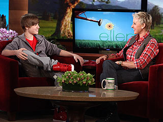 Justin Bieber Dodges Ellen's Dating Questions – and Her Scissors