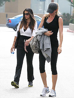 PHOTO: Gisele Bündchen and Camila Alves Work Up a Sweat