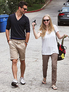 Amanda Seyfried Spends All Day with Her Ex