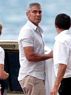 Smooth Sailing for George Clooney, Elisabetta &#8211; and His Long-Ago Ex!