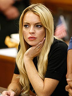 Lindsay Lohan Is a 'Nervous, Fidgety Mess'