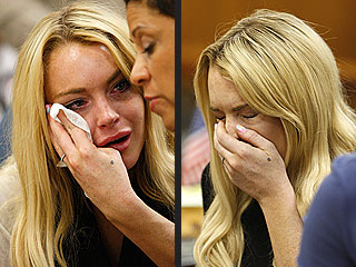 Sobbing Lindsay Lohan Sentenced to 90 Days in Jail