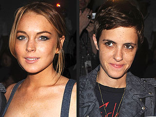 Lindsay Lohan and Samantha Ronson Have a Sleepover