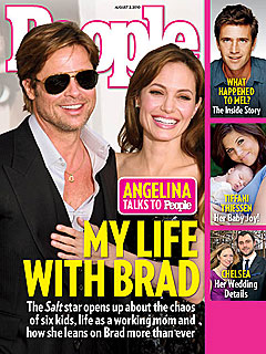 Angelina Jolie on Brad Pitt: We Have Each Other's Backs