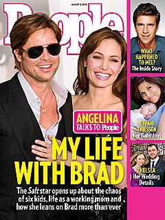 Angelina Jolie on Brad Pitt: We Have Each Other's Backs
