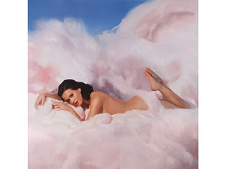 PHOTO: Katy Perry Lounges Naked in a Cotton Candy Cloud