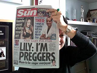 How Big Is Lily Allen's Baby News?