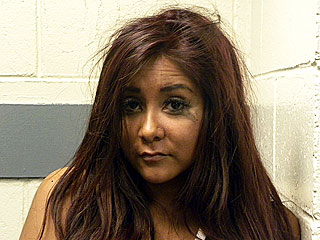 PHOTO: Snooki's Mascara-Stained Mugshot