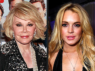 Joan Rivers: I'll Go Easy on Lindsay Lohan – If She Stays Sane