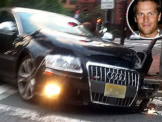 Tom Brady Walks Away Unhurt After Car Collision