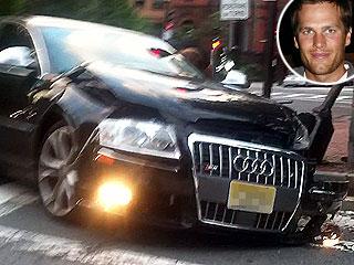 Tom Brady Walks Away Unhurt After Car Collision