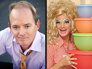 America's Top Tupperware Salesman Works – and Burps – in Drag