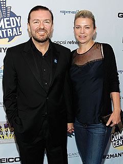 How Ricky Gervais and Girlfriend Jane Fallon Lost 40 Lbs.
