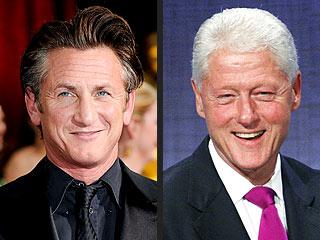Bill Clinton Gives $500,000 to Sean Penn for Haiti