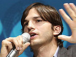 Ashton Kutcher Takes In a Vaudeville Show | Ashton Kutcher