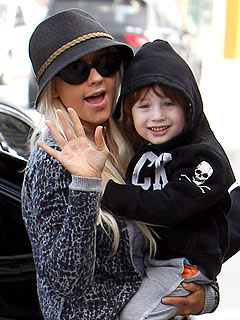 Christina Aguilera Focusing on Being 'a Great Mom' to Max, Says Pal
