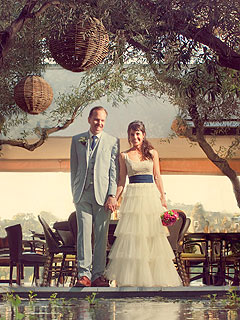 PHOTO: Entourage's Constance Zimmer on Her Wedding Day
