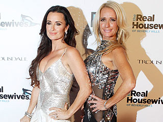 Real Housewives of Beverly Hills - Kim Richards and Kyle Richards