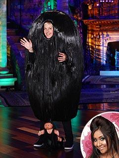 Ellen DeGeneres Snooki Costume Halloween
