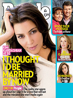 Kim Kardashian: 'I Want to Fall in Love'