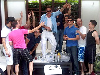 David Arquette's Wild Weekend of Partying (and Tweeting) in Miami