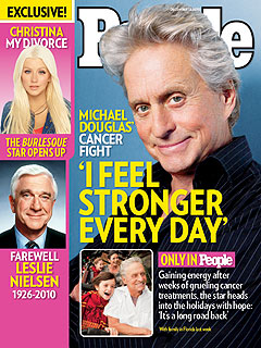 Michael Douglas: Kids 'Have Been so Amazing' During Illness