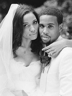 Jurnee Smollett Wedding Picture