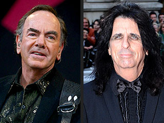 Rock and Roll Hall of Fame Inductees: Neil Diamond, Alice Cooper