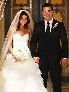 Joanna Garcia and Nick Swisher Wed in Palm Beach