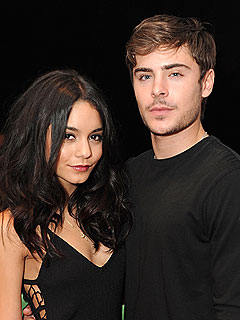 Recently Split Zac Efron and Vanessa Hudgens Spotted Kissing