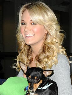 Carrie Underwood: I Hope My Dog Won't Eat My Wedding Ring!