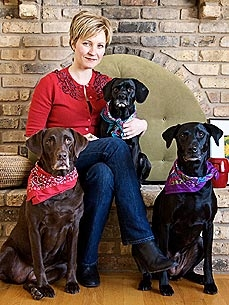 Meet a Member: Heather Rosenwald Helps Black Dogs Break the Color Barrier