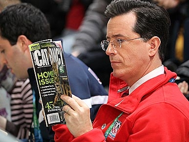 SPOTTED: Stephen Colbert Purr-ruses Cat Fancy Magazine!