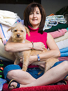 Meet a Member: 'Operation Blankets of Love' Warms Shelter Animals