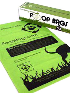 Help the Planet – with a Few Green Poop Bags
