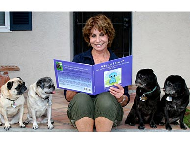 Meet a Member: Author Says 'Grand-Pugs' Help Heal Her Cancer
