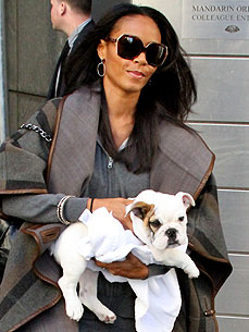 Snooki and Dog Gia Whip Their Hair Like Willow