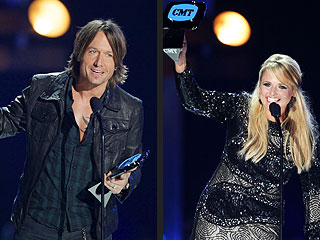 Keith Urban, Miranda Lambert Among Big Winners at CMT Music Awards