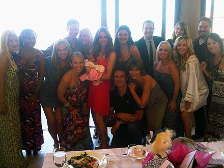 Denise Richards Baby Shower for New Baby