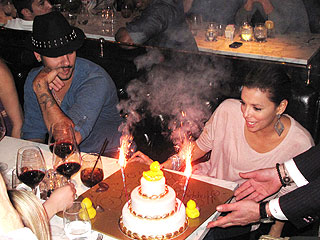 Eva Longoria Celebrates Her Birthday (Again!) with Eduardo Cruz